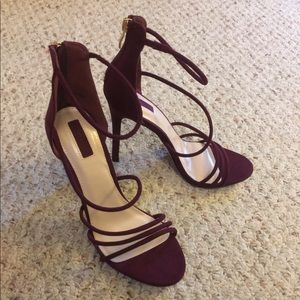 Beautiful Burgundy Stilettos